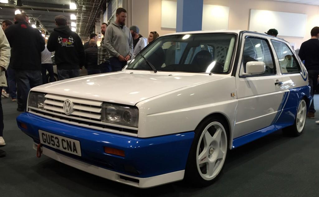 VW Motorsport inspired Golf Rallye