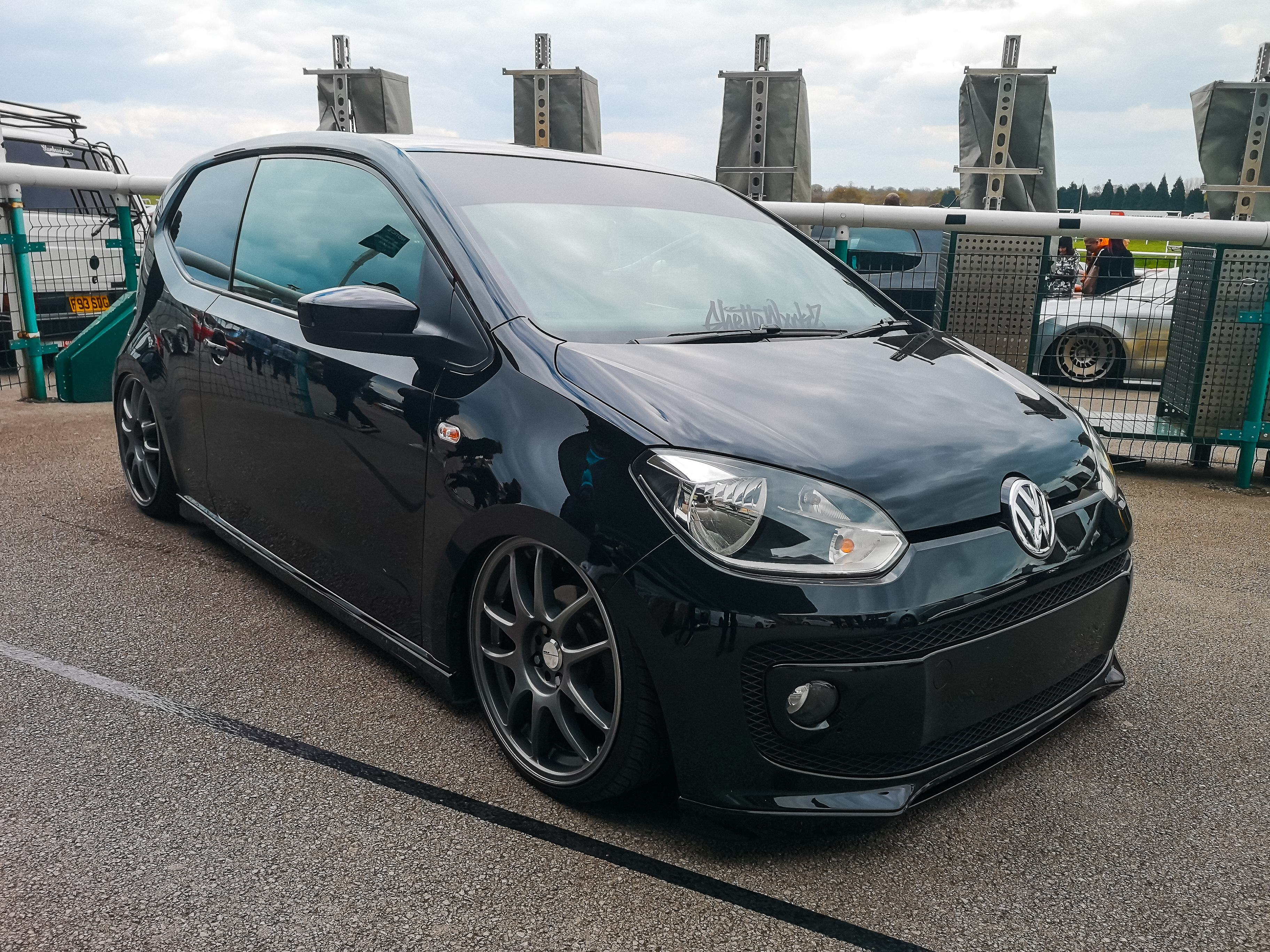 Black VW UP