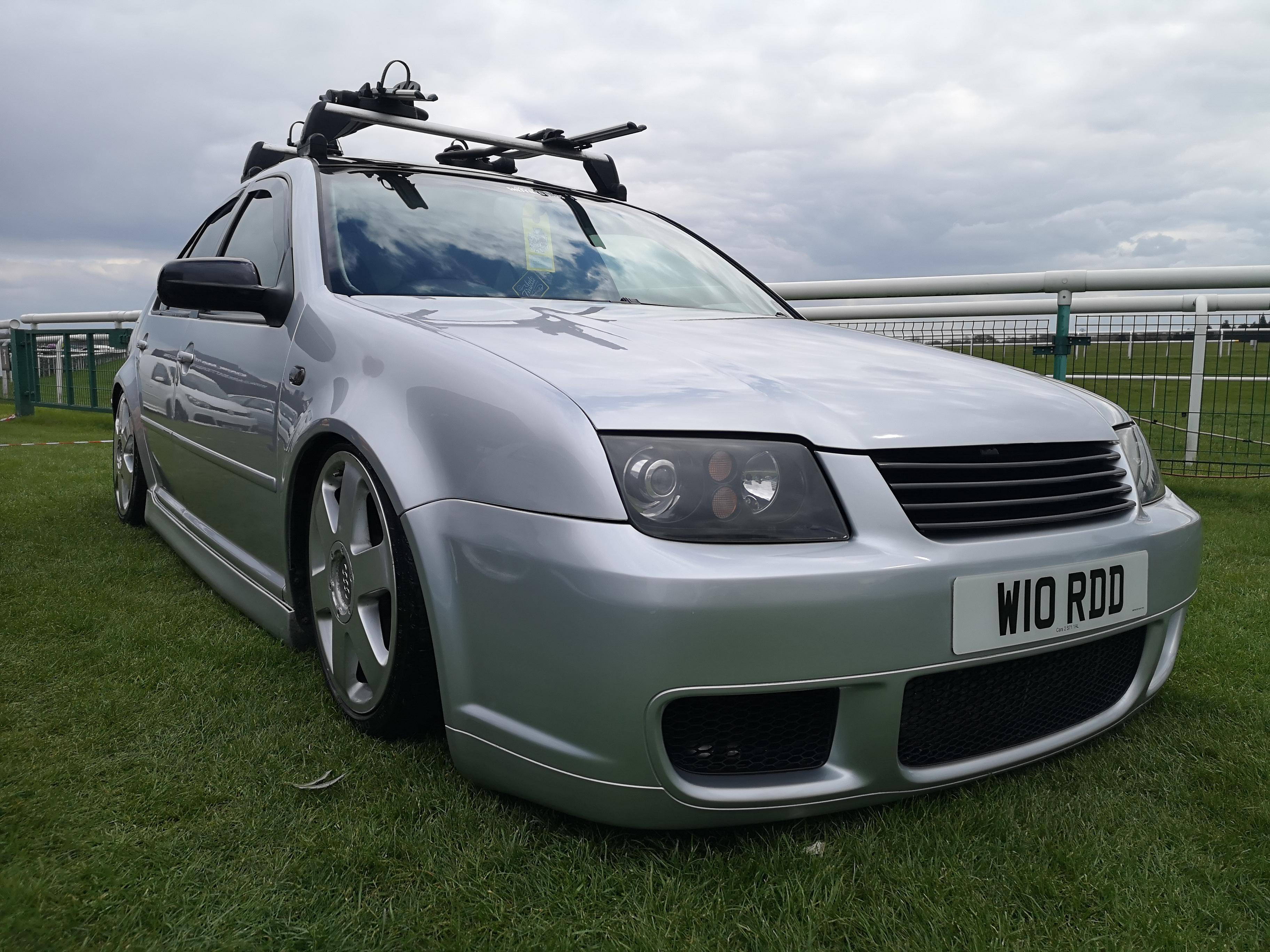 Silver VW Bora