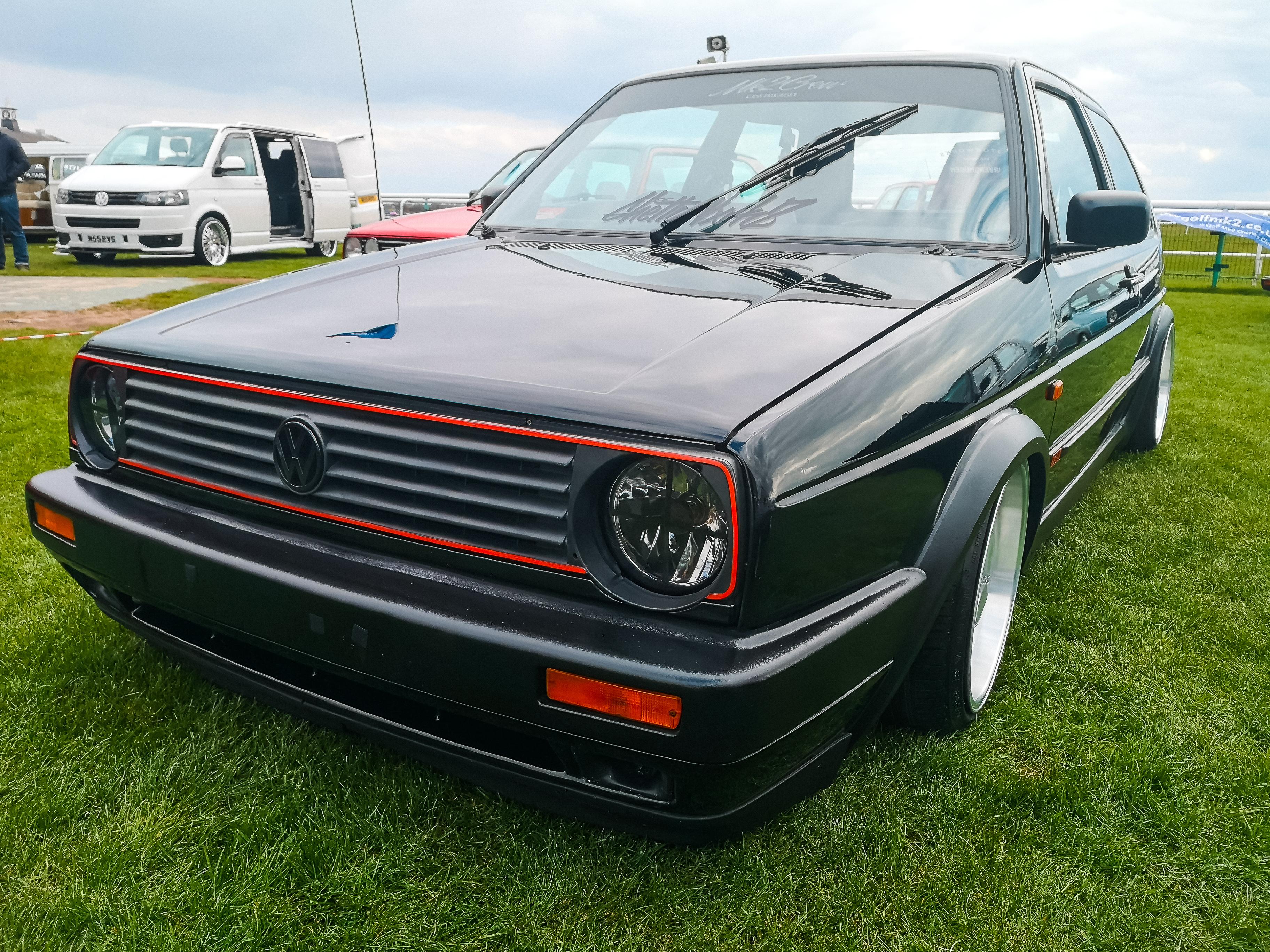 Black Big Bumper MK2 Golf