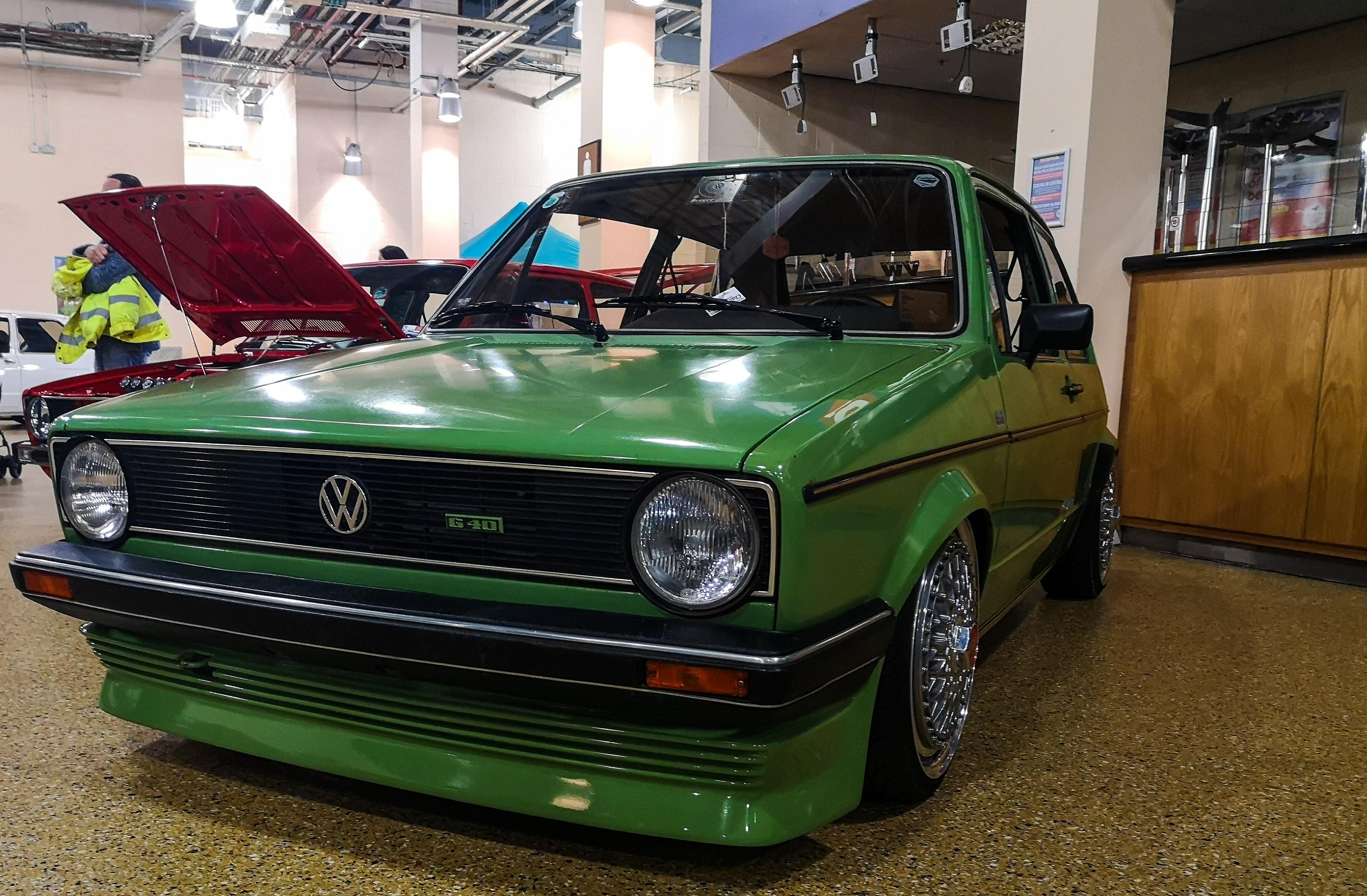 Green MK1 Golf