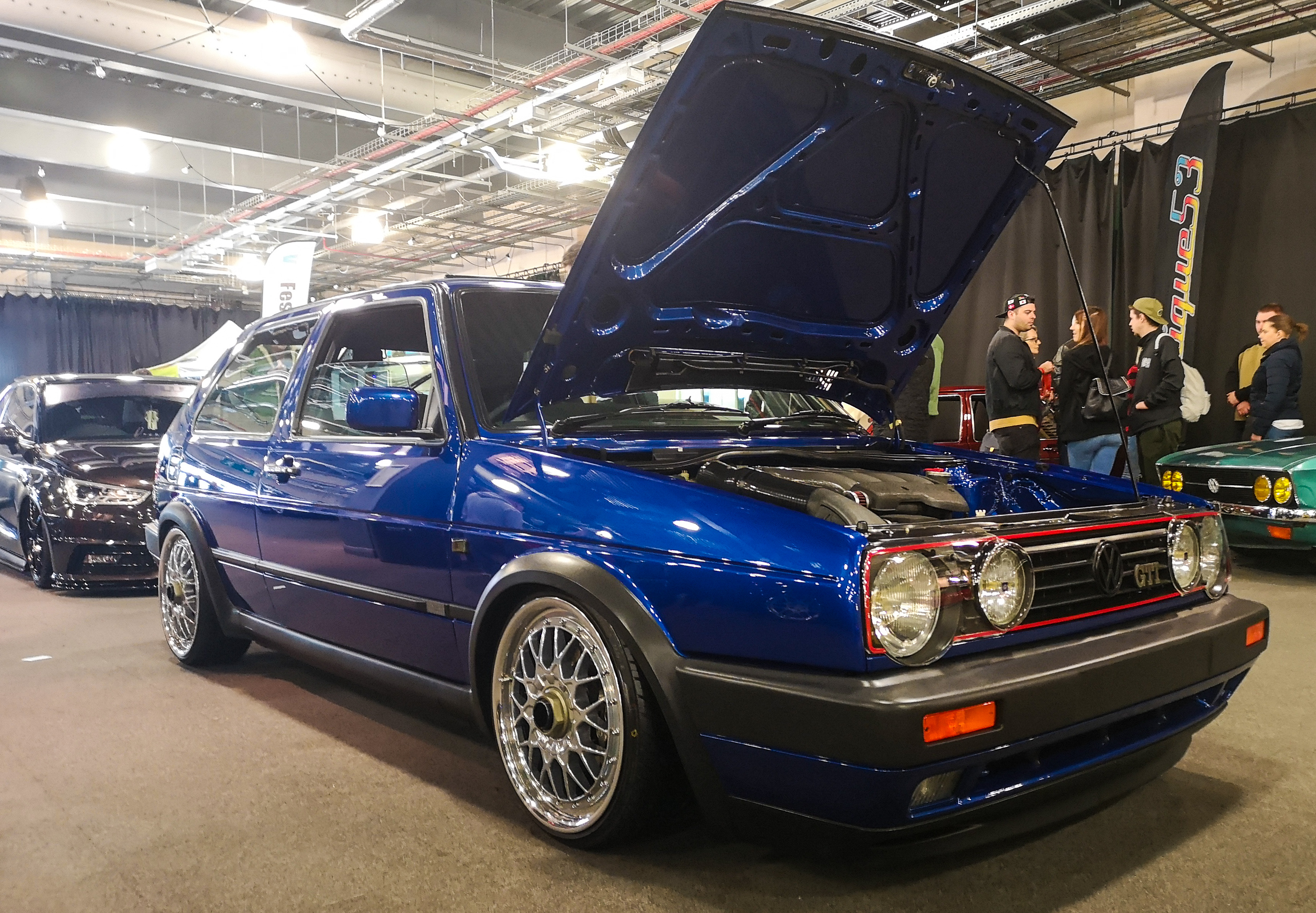 Bright Blue Metallic Golf GTI 16v