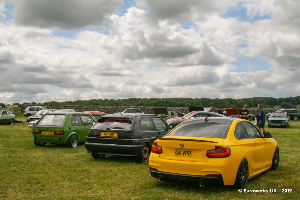 MK1 and Rallye Golf with a BMW