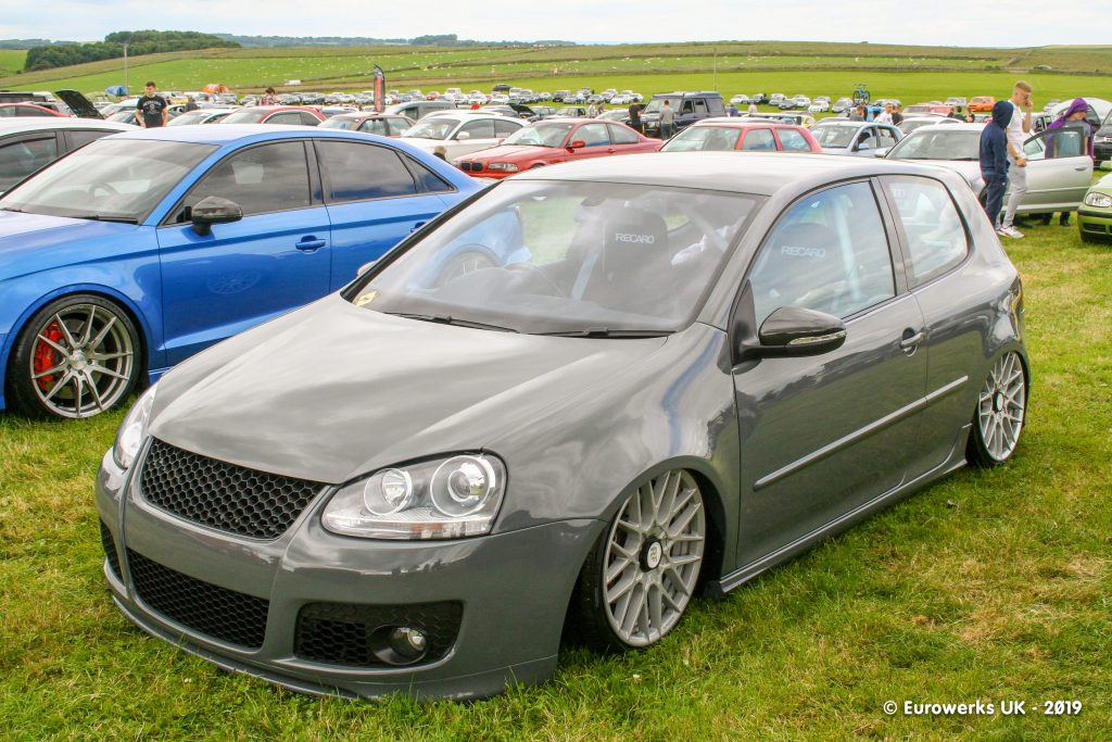 Grey aired out MK5 Golf