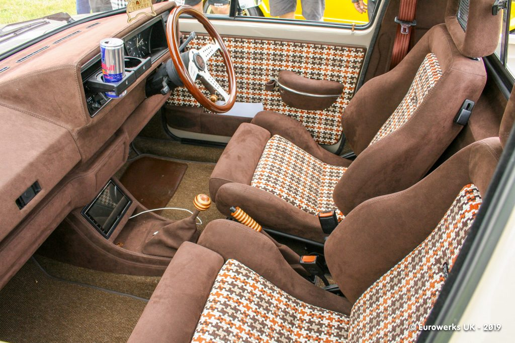VW Caddy interior - Dave the Trimmer