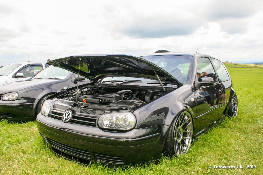 Black MK4 Golf