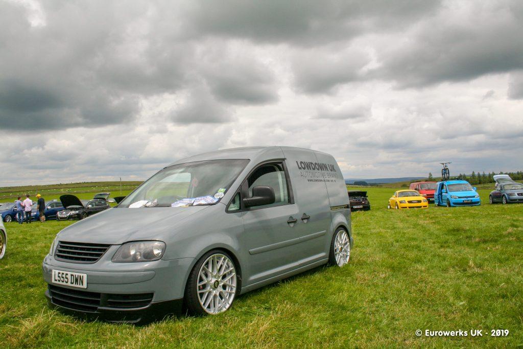 Grey VW Caddy