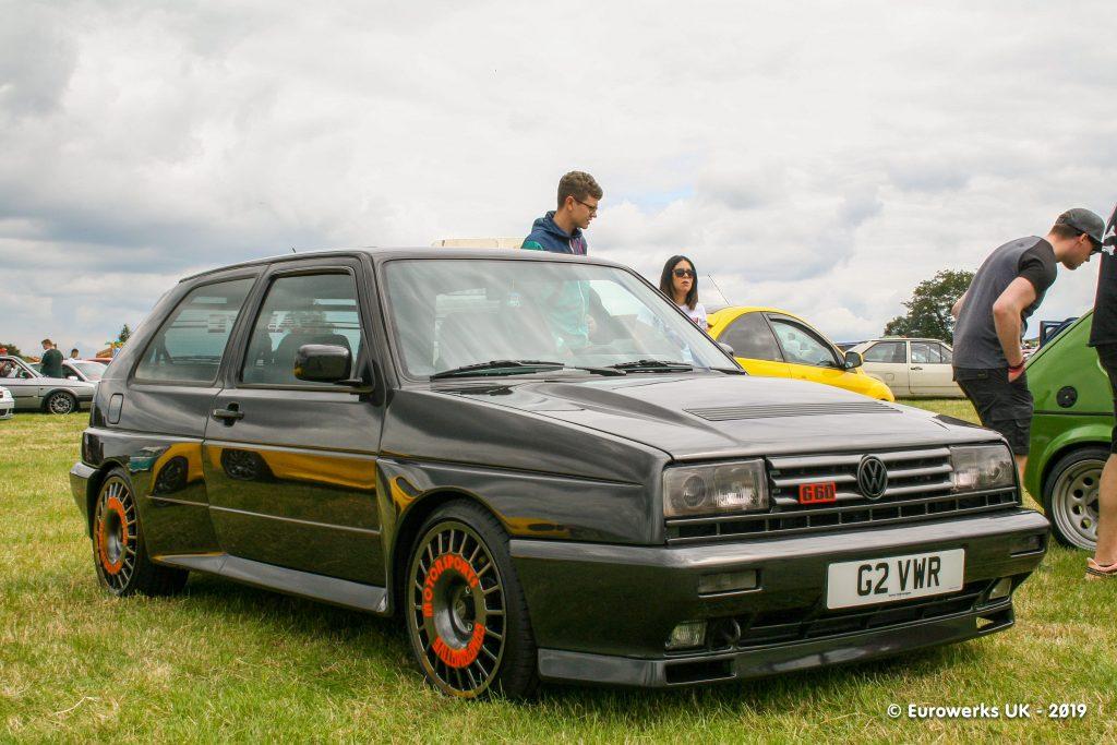 Black VW Golf Rallye