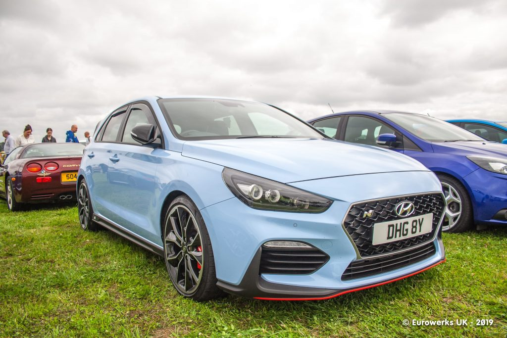 I30N July 2019 Cars and Coffee meet