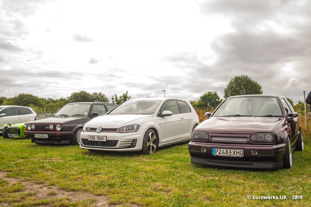 VW Golfs July 2019 Cars and Coffee meet