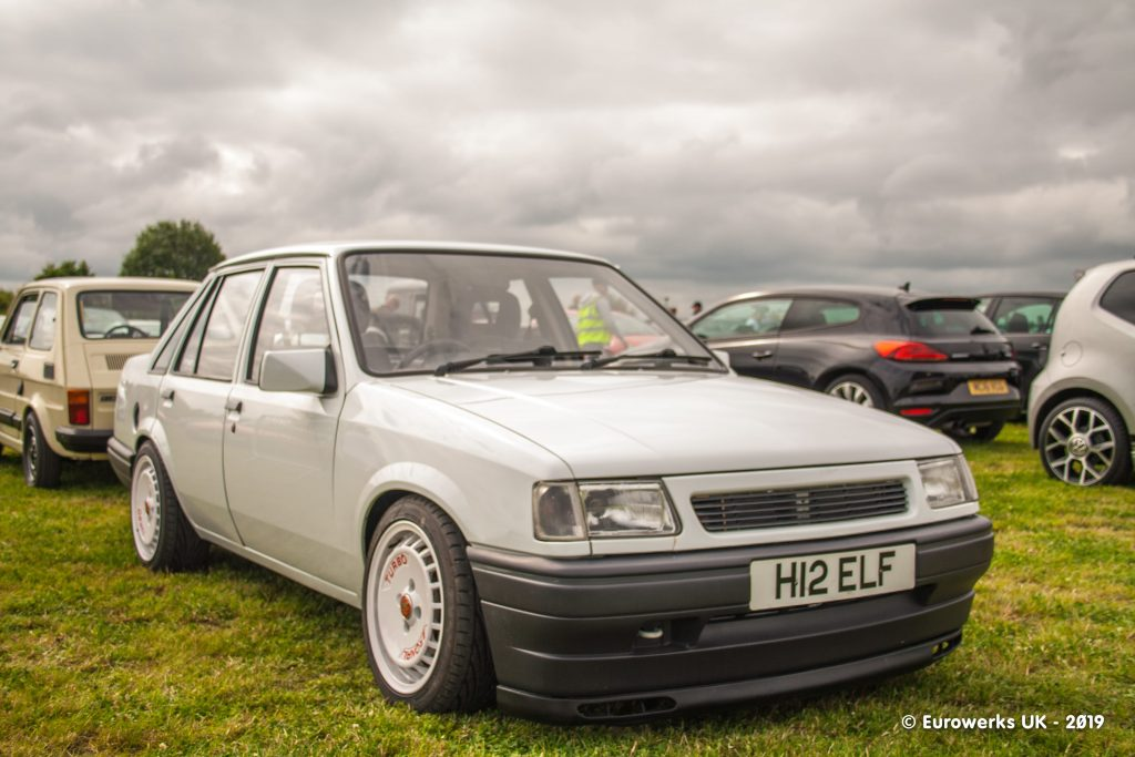 Vauxhall Nova Saloon 4 door Cars & Coffee July 2019