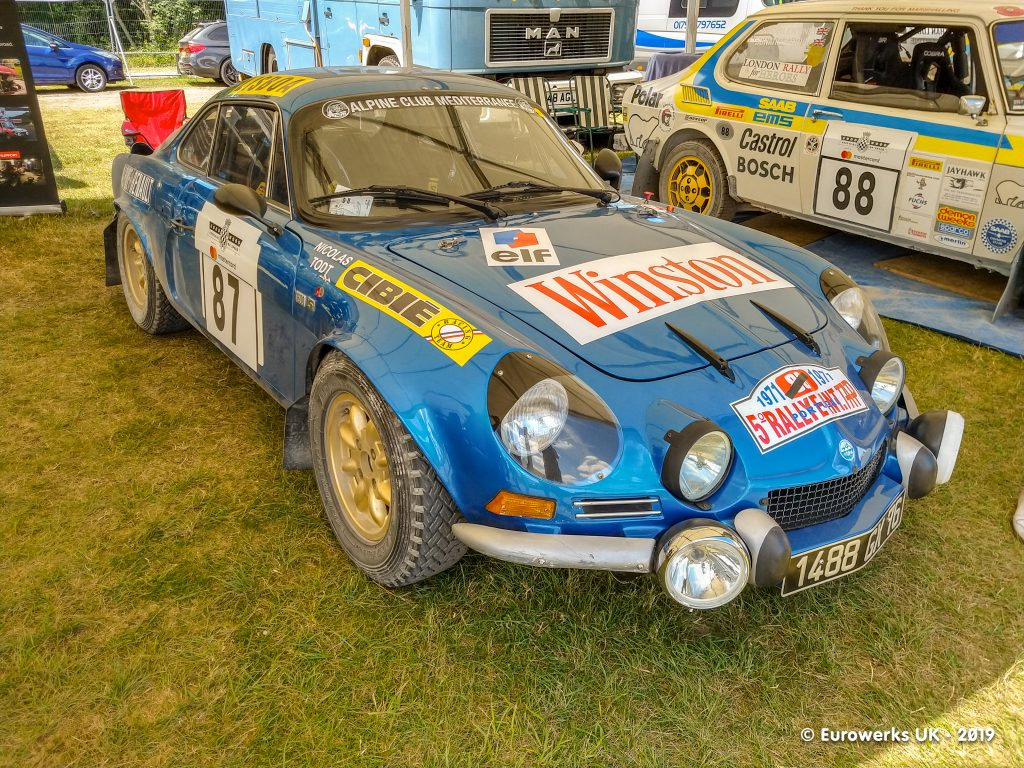 Renault Alpine Goodwood, Goodwood Festival of Speed