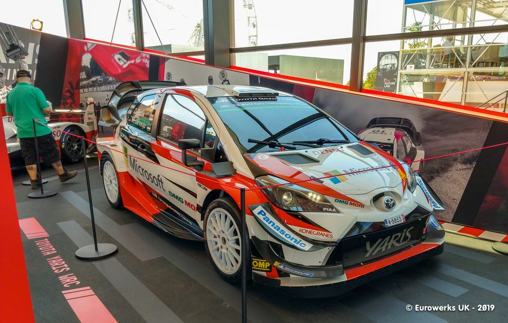 Toyota Yaris WRC Goodwood, Goodwood Festival of Speed