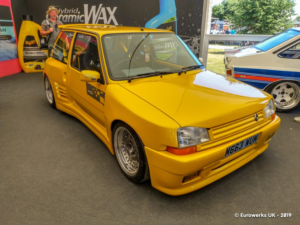 Renault 5 Dimma Goodwood, Goodwood Festival of Speed Meguairs
