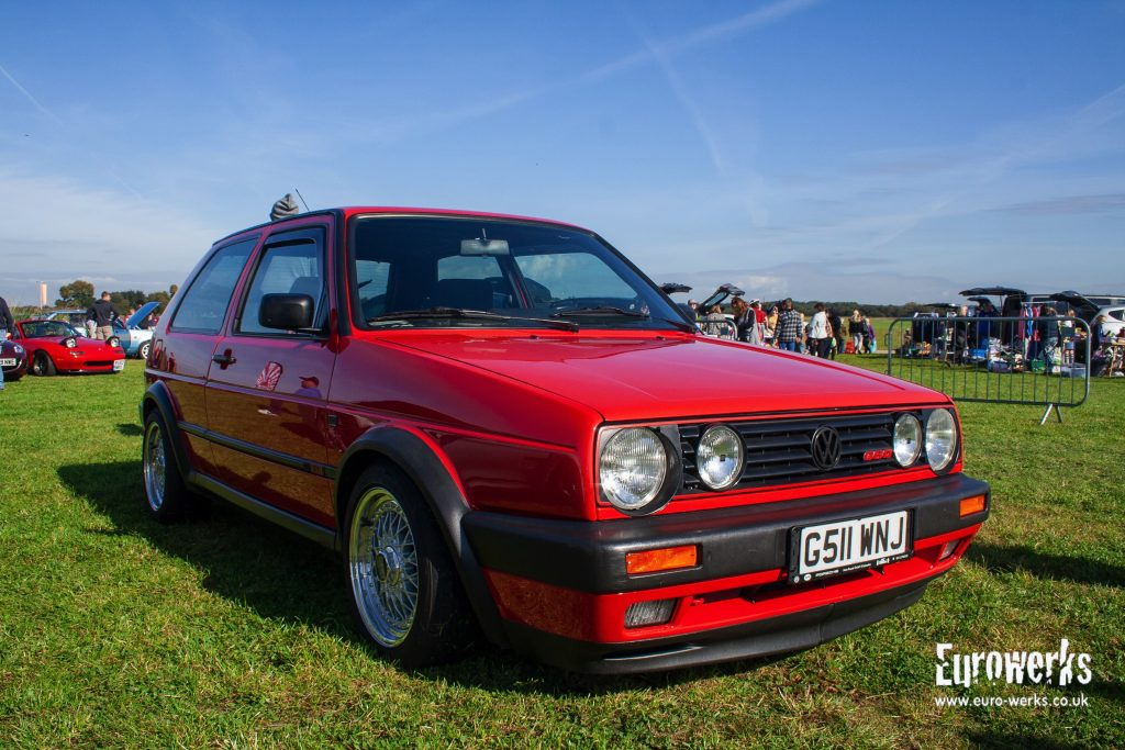 MK2 Golf G60 cars-and-coffee-september Manchester