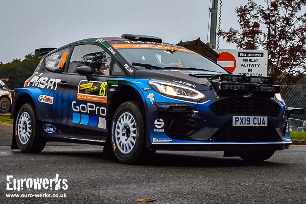 WRC Wales Rally GB Ford