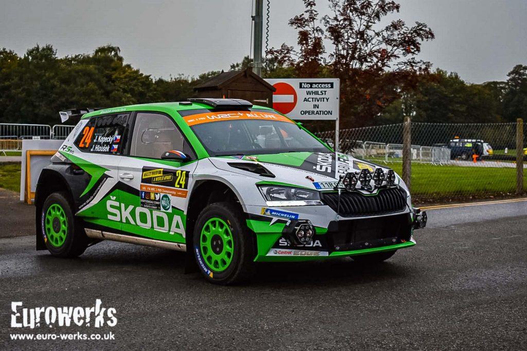 WRC Wales Rally GB Skoda