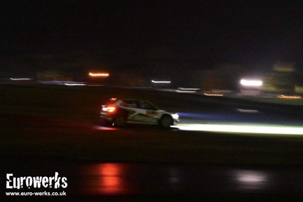 Wales WRC Night Skoda