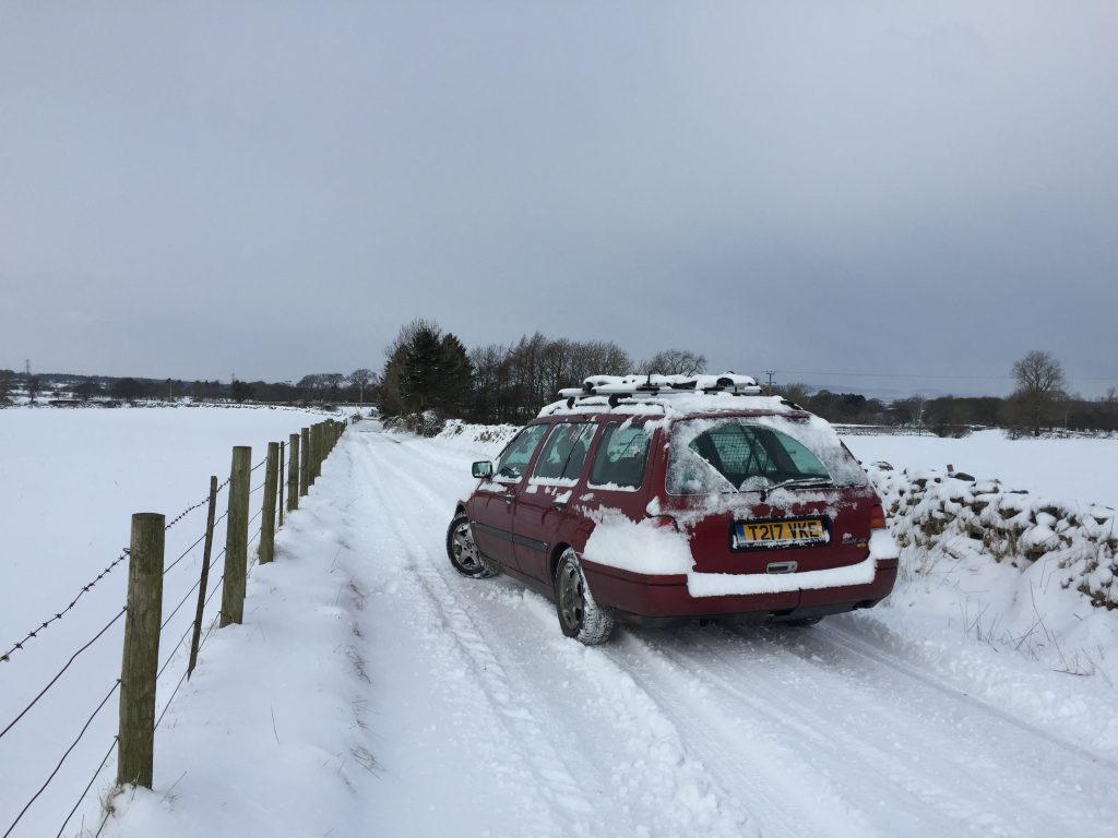 MK3 Golf Estate Winter Road Trip Tips and Tricks
