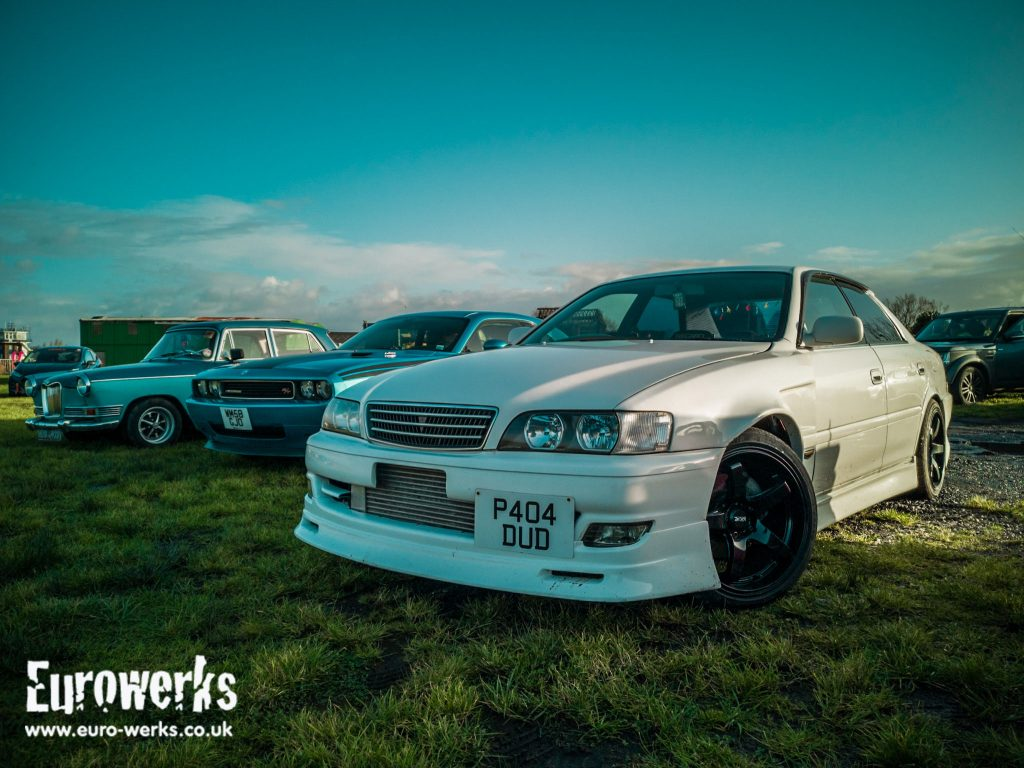 Chaser Cars and Coffee Manchester December