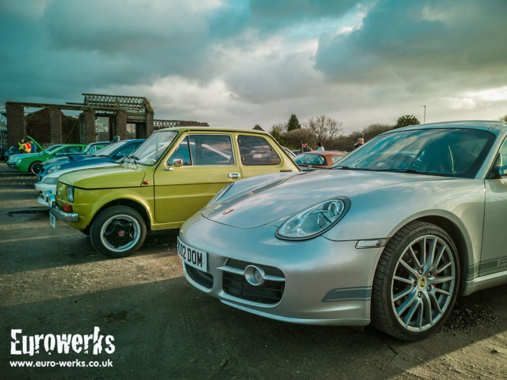 Old and New Cars and Coffee Manchester December