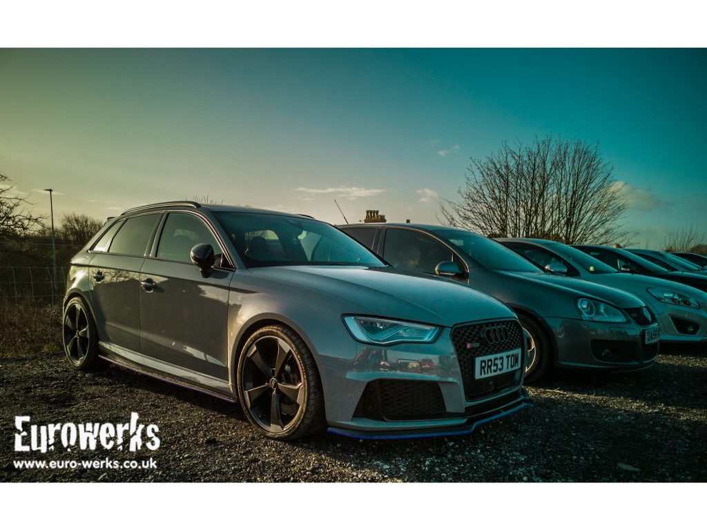 RS3 Cars and Coffee Manchester December