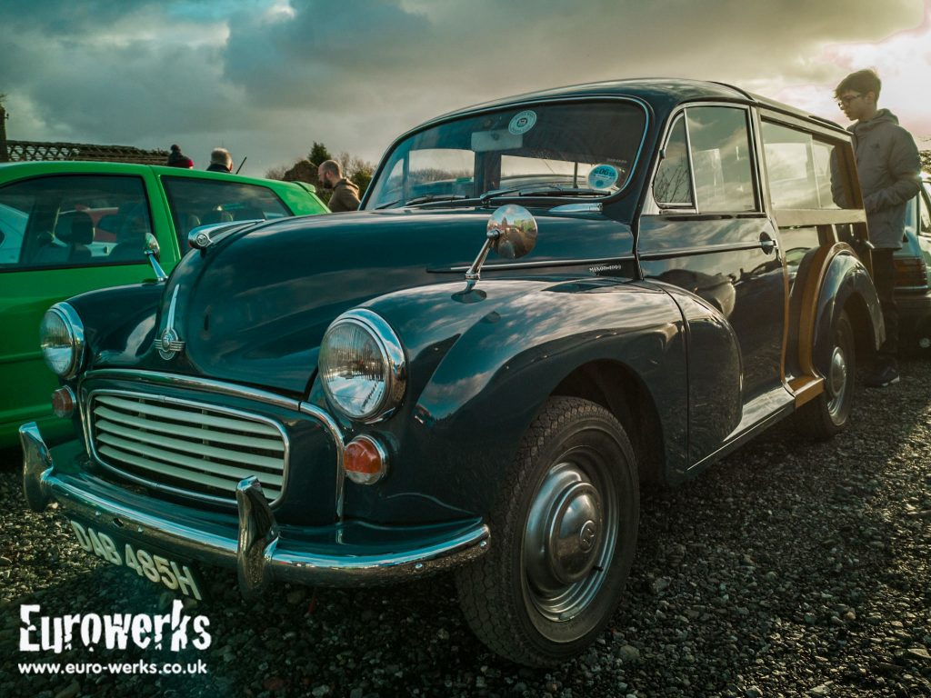 Morris Minor Cars and Coffee Manchester December