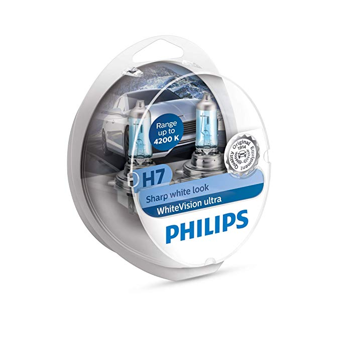 Philips White Vision Headlights and Bulbs