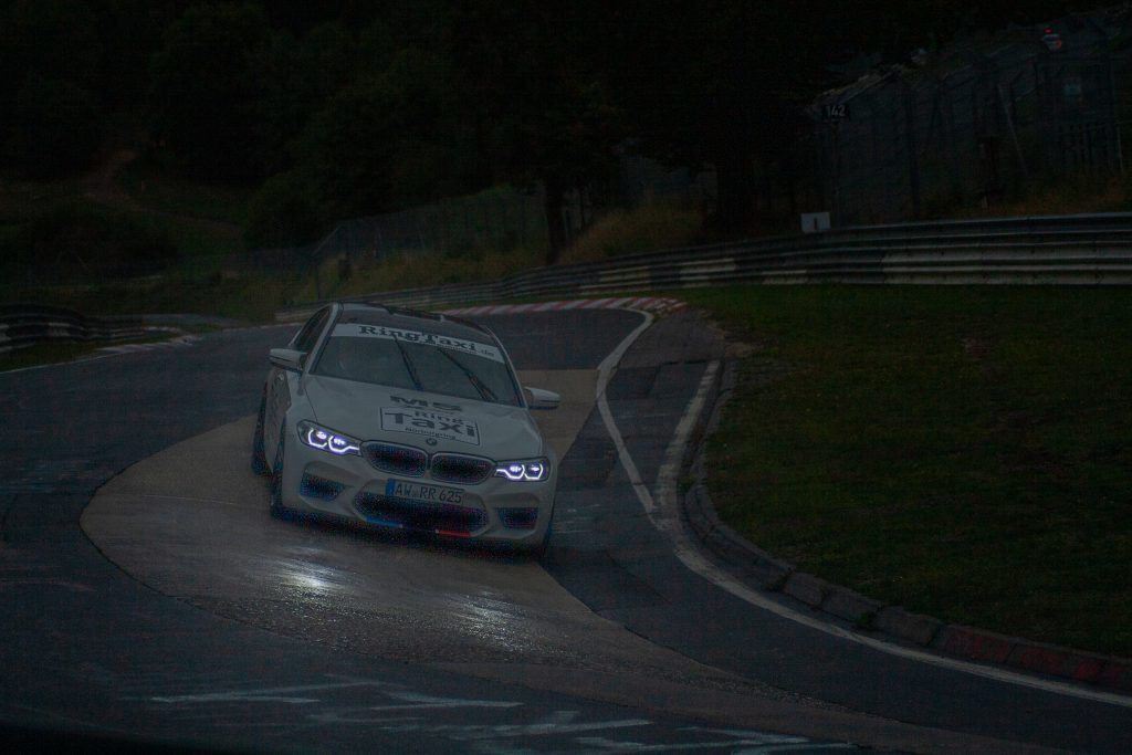 BMW LED Headlights Nurburgring